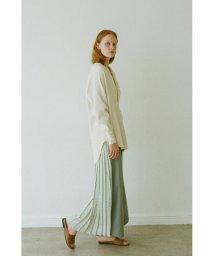 CLANE/SPRINKLE FLOWER PLEAT PANTS/502963102