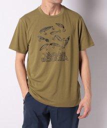 TARAS BOULBA/タラスブルバ/メンズ/レトロプリントTシャツ/502963314
