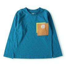 RADCHAP/レイヤード風ポケット付き長袖Tシャツ(90~150cm)/502963490