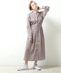 DOUBLE NAME/オリプリ小花柄レトロワンピース/502963656