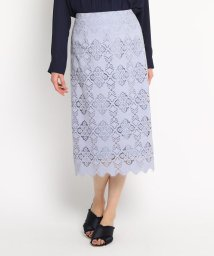 AG by aquagirl/【Lサイズあり/steady.3月号掲載】レースタイトスカート/502964869
