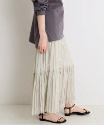 IENA/ジョーゼットプリーツティアードスカート◆/502964891