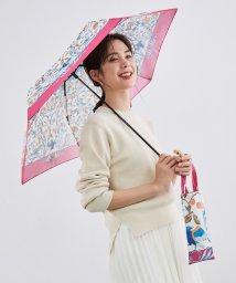 ROPE'/【晴雨兼用】オリジナルスカーフ柄バンブーハンドルアンブレラ/502964990