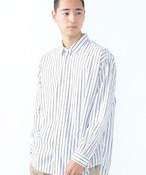SHARE PARK /ストライプレギュラーカラーシャツ/502965568