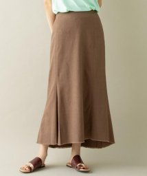 SHARE PARK /【洗える】リネン混ヘリンボーンマーメイドスカート/502965636