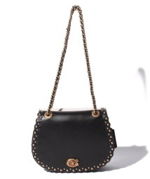 COACH/【COACH】Parker Saddle Bag With Scallop Rivet/502938858