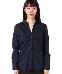 BENETTON (women)/コットンストレッチギャザーシャツ・ブラウス/502946361