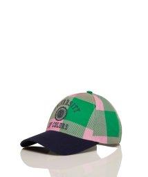 BENETTON (women)/カレッジロゴチェックキャップ・帽子/502947526