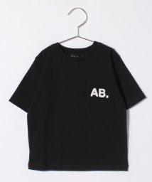 agnes b. ENFANT/K294 E TS キッズ AB. ロゴTシャツ/502955134