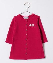 agnes b. ENFANT/K294 L BARBIE ベビー AB. ロゴカーディガンプレッションワンピース/502955137