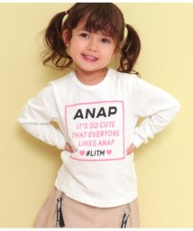 ANAP KIDS/ハートボックスプリントロンT/502965786