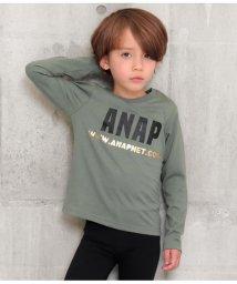 ANAP KIDS/箔プリントロゴロンT/502965789