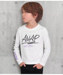 ANAP KIDS/手書ロゴプリントロンT/502965790