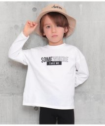 ANAP KIDS/スリットプリントロンT/502965791
