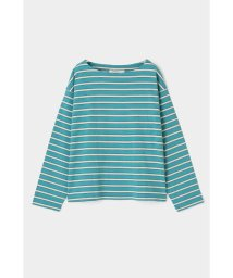 moussy/BORDER BOAT NECK TOP/502965935