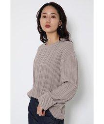 SHEL'TTER SELECT/オーバーサイズコットンニット(Over Size Cotton Knit)/502965968