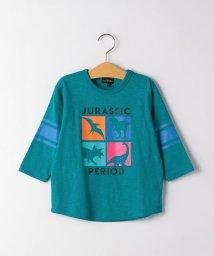 green label relaxing (Kids)/◆恐竜プリントプルオーバー 7スリーブ/502943270
