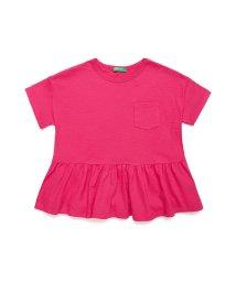 BENETTON (UNITED COLORS OF BENETTON GIRLS)/ペプラムポケットTシャツ・カットソー/502947514