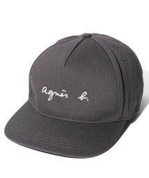 agnes b. HOMME/KH34 CASQUETTE ロゴキャップ/502955801