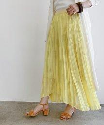 ROPE' mademoiselle/【おうち服】エンブロイダリーランダムプリーツスカート/502967687