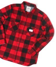 MARUKAWA/【SMITH'S AMERICAN】スミスアメリカン ネルブロックチェックシャツ 長袖シャツ/502967744