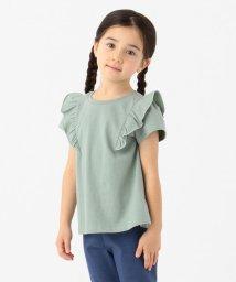 anyFAM(KIDS)/【140-150cm】肩フリル デイリーTシャツ/502967942