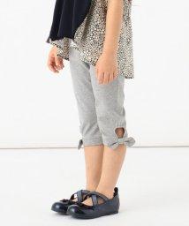 anyFAM(KIDS)/【80-130cm】裾結びリボン クロップド丈パンツ/502967967