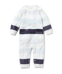 gelato pique Kids&Baby/【BABY】'スムーズィー'4ボーダー baby ロンパース/502968179