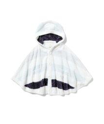 gelato pique Kids&Baby/【BABY】'スムーズィー'4ボーダー baby ポンチョ/502968181