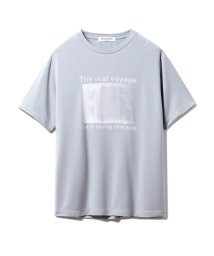 GELATO PIQUE HOMME/【GELATO PIQUE HOMME】レーヨンロゴTシャツ/502968483