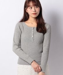 URBAN RESEARCH OUTLET/【WAREHOUSE】ヘンリーネックリブニット32L/502913969