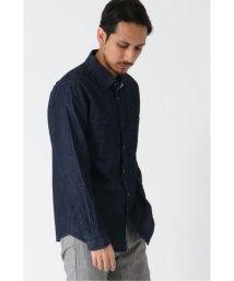 ikka/デニムWポケットシャツ/502951078