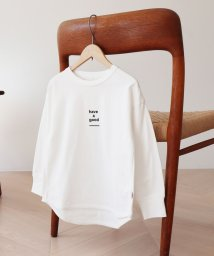 "coen/【coen キッズ/ジュニア】USAコットン""have a good""ロングスリーブTシャツ(ロゴT/プリントT)/502955858"