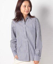 LAPINE BLEUE/【洗える】ロンドンストライプ コットンシャツ/502961643