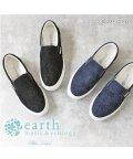 earth music&ecology BlueLabel/レーススリッポンスニーカー アースミュージック&エコロジー 靴 レディース スリッポン スニーカー レース ローカット フラット earth music&eco/502967765