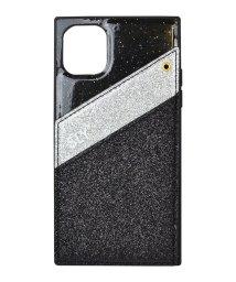 Mーfactory/74480-1 iPhone 11 SLY [ラメマグネット/ブラック]/502968083