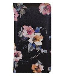 Mーfactory/74375-1 2019 iPhone 11 rienda[プリント手帳/Parm Flower/ブラック]/502968087