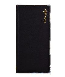 Mーfactory/74380-2 iPhone 11 Pro rienda[スクエア手帳/Grace Flower/ブラック]/502968093