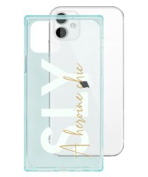 Mーfactory/74482-2 iPhone 11 SLY [セミクリアケース/A heroine chic/light green]/502968095