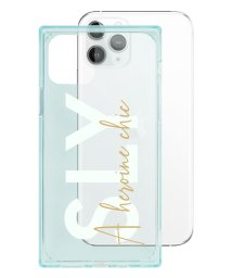 Mーfactory/74483-2 iPhone 11 Pro SLY [セミクリアケース/A heroine chic/light green]/502968097