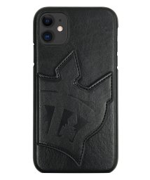 Mーfactory/md-74457-1 iPhone 11 RODEOCROWNS [背面ケース/ビッグクラウンミラー/ブラック] /502968102