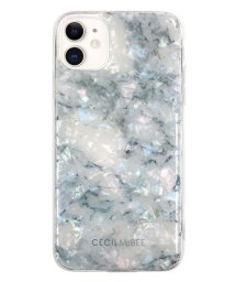 Mーfactory/md-74509-1 iPhone 11 CECILMcBEE [ソフトシェルケース/大理石/WHITE] /502968113
