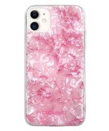 Mーfactory/md-74509-2 iPhone 11 CECILMcBEE [ソフトシェルケース/大理石/PINK] /502968114