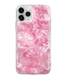 Mーfactory/md-74511-2 iPhone 11 Pro CECILMcBEE [ソフトシェルケース/大理石/PINK]/502968118