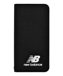 Mーfactory/md-74257-1 iPhone8/7/6s/6 New Balance [シンプル手帳ケース/ブラック]/502968138