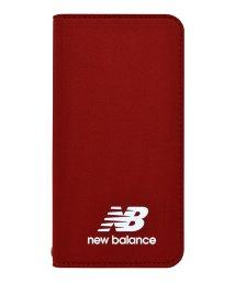 Mーfactory/md-74257-3 iPhone8/7/6s/6 New Balance [シンプル手帳ケース/レッド]/502968139