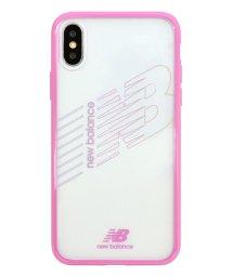 Mーfactory/md-74260-4 iPhoneXS/X New Balance [TPU+PCハイブリッド クリアケース/ピンク]/502968148