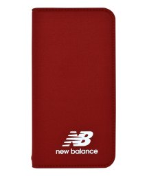 Mーfactory/md-74261-3 iPhoneXS/X New Balance [シンプル手帳ケース/レッド]/502968151