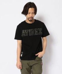 AVIREX/SH/星条旗ロゴ フットボールTシャツ/STARS&STRIPES LOGO FOOTBALL T-SHIRT/502968820