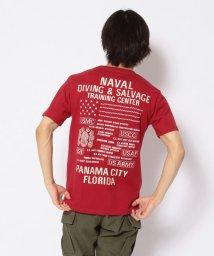 AVIREX/SH/刺繍 Tシャツ ダイビング&サルベージ/EMB CREW NECK T-SHIRT DIVING & SALVAGE/502968821